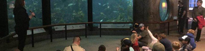 Spring Overnight – Monterey Bay Aquarium