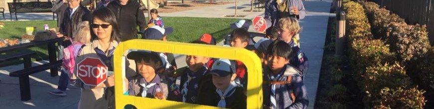 Earth Day School Walking Bus